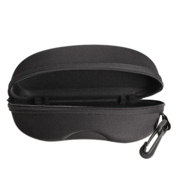 Zipper Eye Glasses font b Sunglasses b font Hard Case Box Portable Protector Black Cute Style