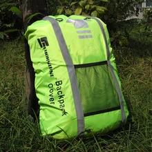 Открытый Велоспорт спортивный рюкзак дождевик светоотражающий водостойкий пылезащитный анти-грязный мешок чехол для верховой езды путешествия сумки для восхождения
