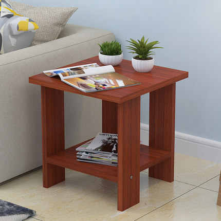 Small coffee table Simple Modern Mini-sized apartment Living room sofa Side  corner desk Bedroom bedside table