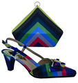 Italy Matching Bag And Shoes High quality Italian Shoes And Bags To Match Women Matching Shoes And Bags For party! WTT1-11