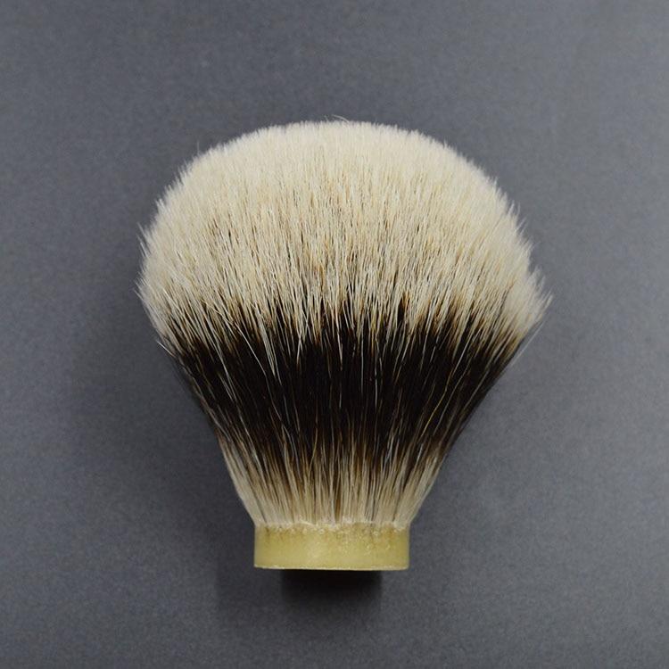 Beard Brush Head Shaving Brush Knot Head Two Band Badge Hair  28/75mm