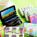 20pcs/lot Waterproof ABS+Aluminum rfid blocking Credit Card holder wallet Protect credit card safety from the theif