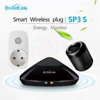 Original Broadlink SP3S Mini Energy Monitor Smart Wireless WiFi Socket Remote With Power Meter Control By