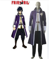 Japan Anime Cosplay Costume Fairy Tail Gray Fullbuster cosplay Halloween costumes for boy men