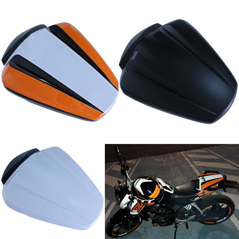 Motorcycle Pillion Rear Passenger Seat Cowl Cover For 2011 2012 2013 2014 2015 2016 KTM 125