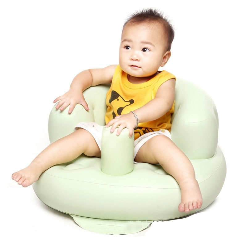 PVC Baby Sofa Inflatable Kids Training Seat Bath Dining Chair baby seat inflatable sofa stool stool bb portable small bath bath chair seat chair school page 3