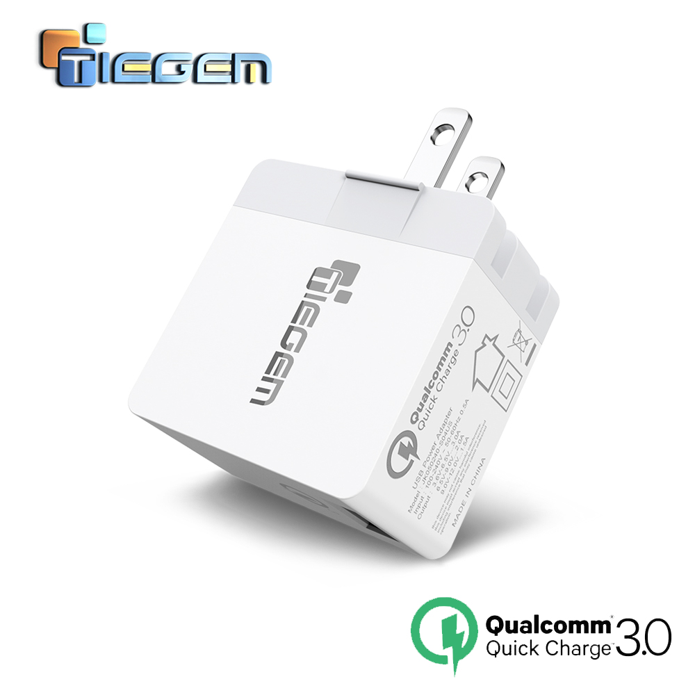 TIEGEM Quick Charge 3.0 Universal USB Wall Chargers