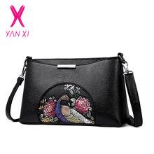 4755047251 YANXI Floral Bags for Women 2018 PU Luxury Handbags Women Bags Designer  Handbags High Quality Shell Bag Chinese Style Sac A Main