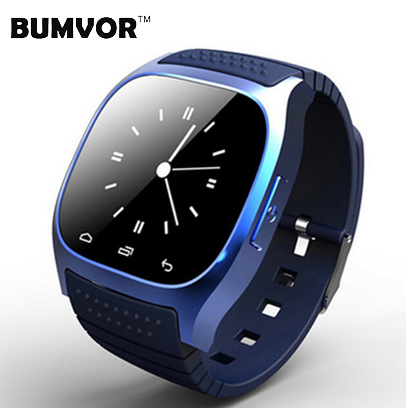 BUMVOR M26 Bluetooth Clock Smart Watches Android Wearable Devices Social App/Call Reminder Smart bracelet watch