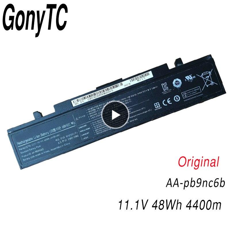Original Laptop Battery For Samsung AA-PB9NS6B AA-PB9NC6B R580 R540 R519 R525 R430 R530 RV511 RV411 RV508 R510 R528 Aa Pb9ns6b