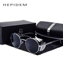 Men Brand Designer Windshield Steampunk Goggles Flak Jacket Sunglasses Women's Hippie Gothic Punk Sun Glasses Shades with box bl