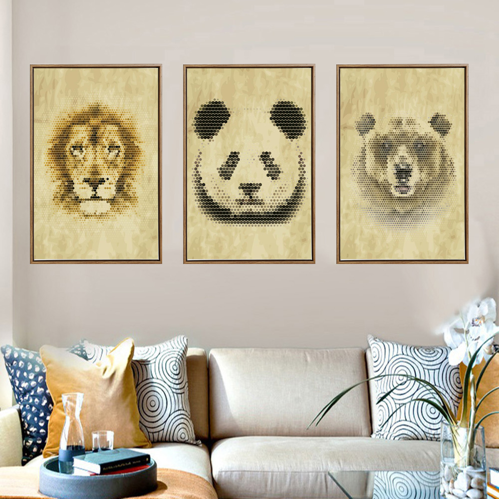 Awesome Lion Wall Art Contemporary - The Wall Art Decorations ...