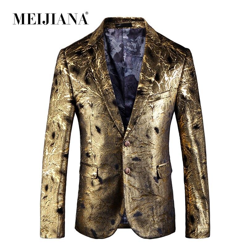 Erkek Kıyafeti'ten Blazerler'de MEIJIANA 2019 Moda Sequins Sahne Takım Elbise Ceketleri Parti Elbise Sanatçılar Ceket Tiyatro Kostüm Şarkıcı Ustası Törenleri Blazer'da  Grup 1