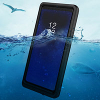 Heavy Duty Protection IP68 Waterproof PET Case for Samsung S8 S8 plus Note8 Cse Outdoor Sports Case Sealed Cover Mobile Phone
