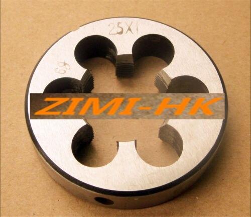 1pcs 25mm X 1 Metric Right Hand Die M25 X 1.0mm Pitch The High Quality