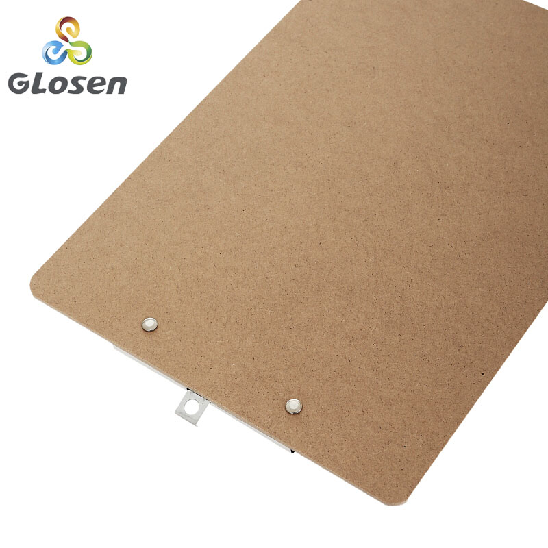 Image 4 - Glosen A4 Wooden Desk Card Notebook Papers Writing File Mat Drawing Folder Butterf Clip Board Clipboard School Office Supplies-in Clipboard from Office & School Supplies