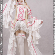 Chobits Costumes Chii white Dress Lolita Cosplay Co