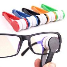 Mini Sun Glasses Eyeglass Microfiber Brush Cleaner Home Office Easy