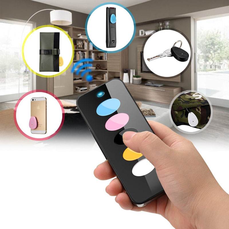 Key Finder W 5 Receivers Kollea Intelligent Wireless RF Item Wallet Locator Remote Control W LED Light FC