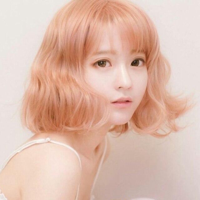 Harajuku Korean Women Fashion Style 30cm Short Curly Yurisa Cosplay