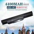 4400 mah batería del ordenador portátil para asus a32-k53 a42-k53 a43 a53 a53s a53sv K43 K43E K43J K43S K43SV K53 K53S K53SV K53T K53E K53F K53U