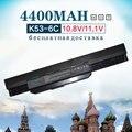 4400 mah bateria do portátil para asus a32-k53 a42-k53 a43 a53 a53s a53sv K43 K43E K43J K43S K43SV K53 K53S K53SV K53T K53E K53F K53U