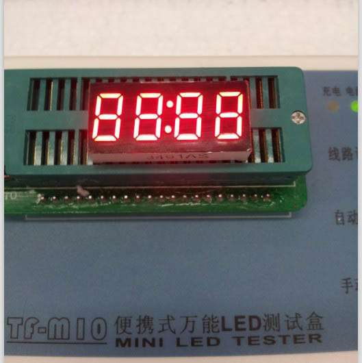 Common Anode/ Common Cathode 0.36 Inch Digital Tube Clock 4 Bits Digital Tube Led Display 0.36inches Red Digital Tube