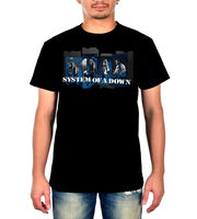 System Of A Down Men S T Shirt Metal Rock Band Music Fashion Top Tee Summer