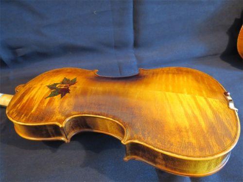 Strad Estilo Desenho De Volta Violino 4 4 Feito A Mao Grande Som