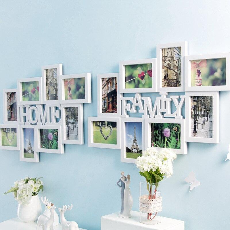 6 Zoll Dekoration DIY Fotorahmen Sets für Wand Riesige Familie ...