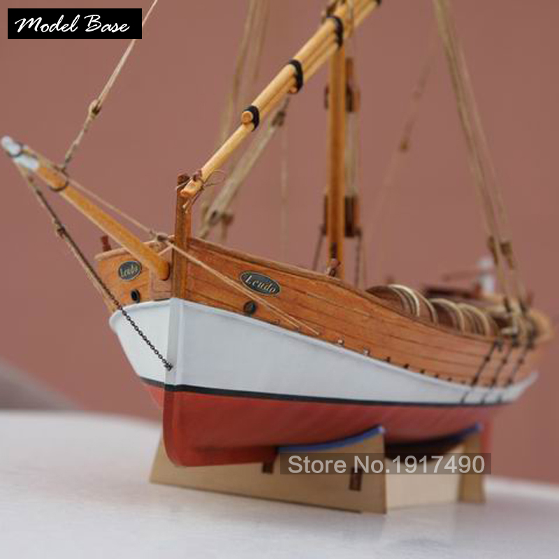 Wooden Ship Models Kits Diy Train Hobby Model-Wood-Boats 3d Laser Cut Scale 1/48 Model-Ship-Assembly Educational Leudo1800-1900 потолочный светильник mantra mara antique brass 1626