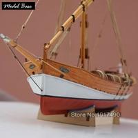 Wooden Ship Models Kits Diy Train Hobby Model Wood Boats 3d Laser Cut Scale 1/48 Model Ship Assembly Educational Leudo1800 1900