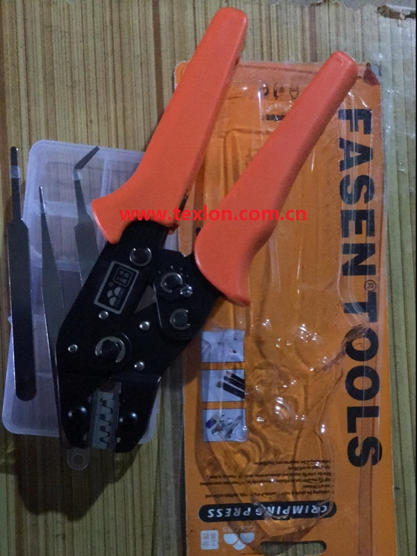Lonati Socks Machine Use Joint  AMP Terminal Clamp / AMP Crimping Tool lonati g615l gl61q gl616d socks machine use throat plate d4380894