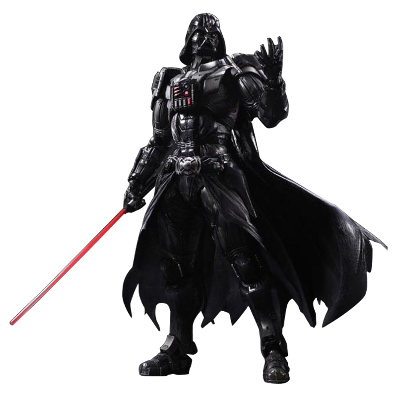Star Wars 25cm Darth Vader Stormtrooper Action Figure Toys The Force Awakens Anime Movies Figures Lightsaber Gift original Box 10cm nendoroid star wars toy the force awakens stormtrooper darth vader 501 502 pvc action figure star wars figure toys