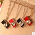 Vintage Jewelry Camera Necklaces Pendants Hot Sale Enamel Five Color Lovely Fashion Designer Bijoux