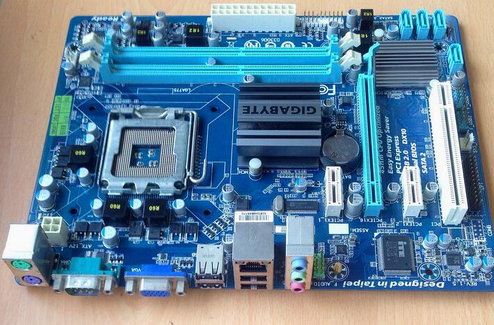 For Gigabyte GA-G41MT-S2 Original Used Desktop Motherboard G41MT-S2 For Intel G41 LGA 775 For DDR3 8G SATA2 USB2.0 Micro-ATX original motherboard ga g41mt s2 lga 775 ddr3 g41mt s2 8gb fully integrated g41 free shipping