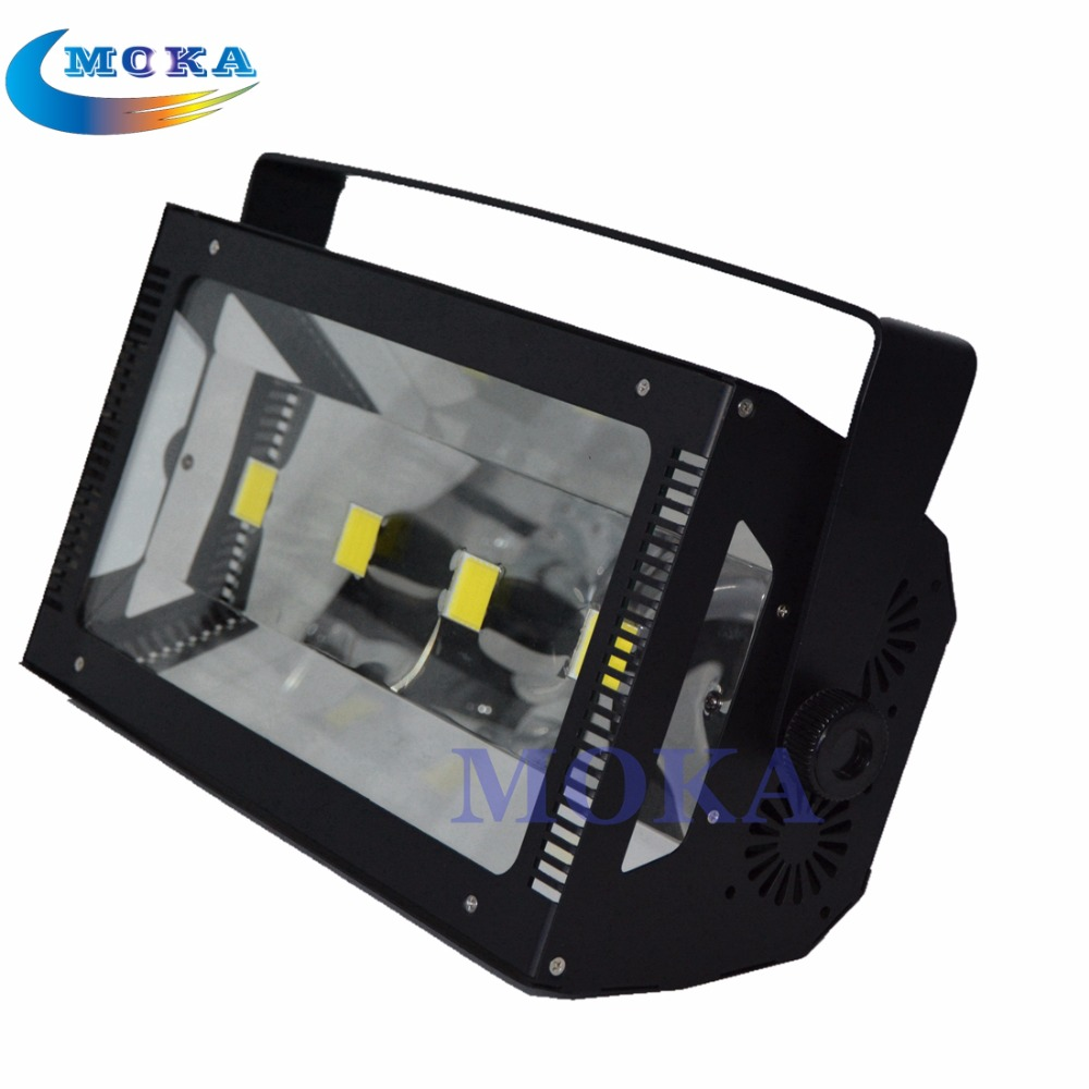 2PCS/lot Entertainment Stroboscope 200W LED Strobe Light DJ Lighting Stage Light Flash Effect dmx srtobe light