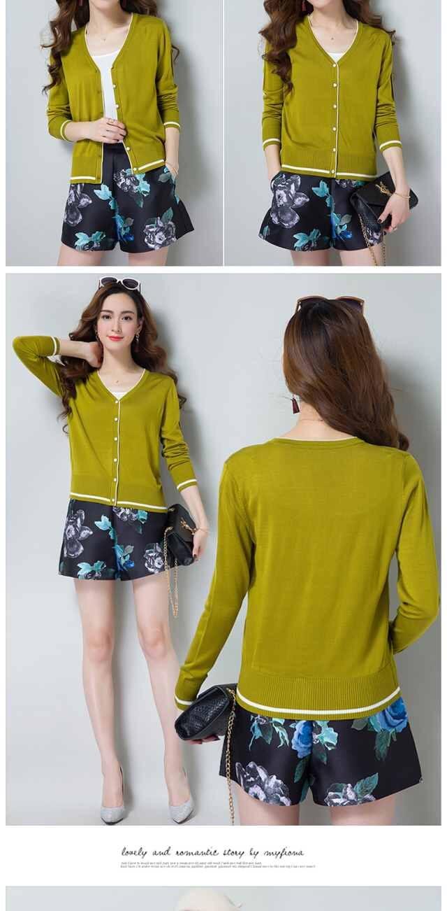 curto, jaqueta protetora solar, bloco de cor, suéter feminino