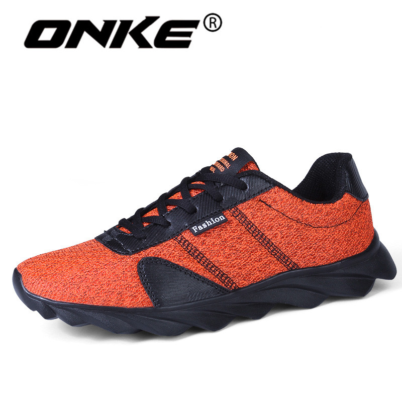 2018 Spring Summer Brand Sneakers for Men Breathable Mesh Running Man Shoes Comfortable Walking Athletic Lace Up Trainers mulinsen men breathable running shoes summer 2017 shoes men mesh walking shoes sport jogging brand sneakers for men zapatos