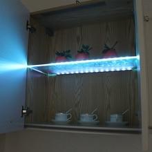LED Glass Shelf Back Side Light Glass Edge Under Cabinet
