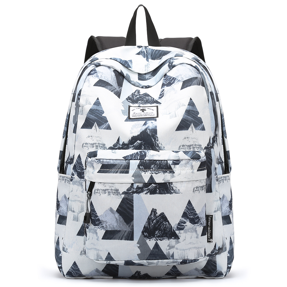 Laptop bags korea - Forever Cultivate Women Backpack Japan And South Korea Printed Travel Backpack For Teenagers Boys Girls Students Laptop Bag