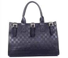 สีดำธุรกิจผู้หญิงถุงกระเป๋าแฟชั่นผู้หญิงกระเป๋าสะพาย2016ซิปH Aspกระเป๋าที่มีคุณภาพสูงสุด