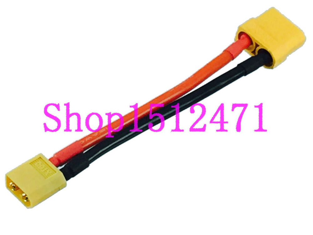 1pce XT60 to XT90 male /& female Extension Cable 12AWG 10CM Wire for Battery