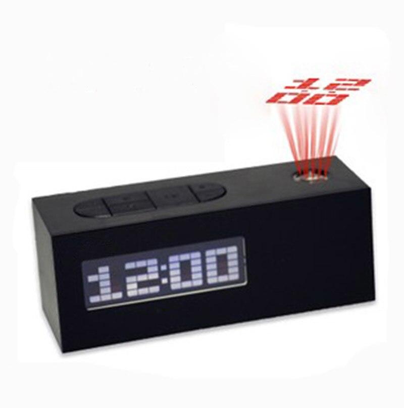 Fm Radio Controlled Digital Led Alarm Clock Snooze With