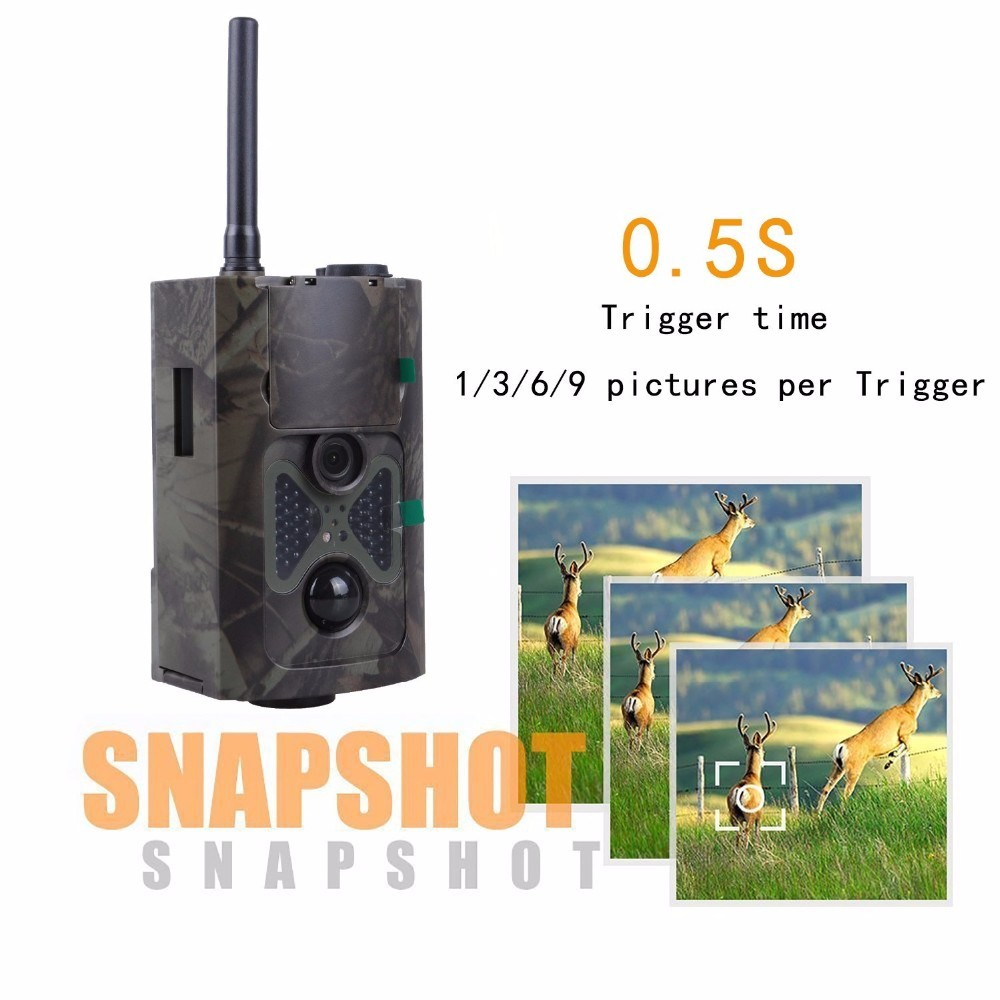 Infrared Digital Hunting Trail Camera HC500M 12MP with 24pcs Black IR LED HD Wildlife Animals camera for Photo Trap hunting Wild camouflage camera hc 300a scouting hunting camera 12mp 1080p hd digital wildlife trail camera infrared photo traps for hunting