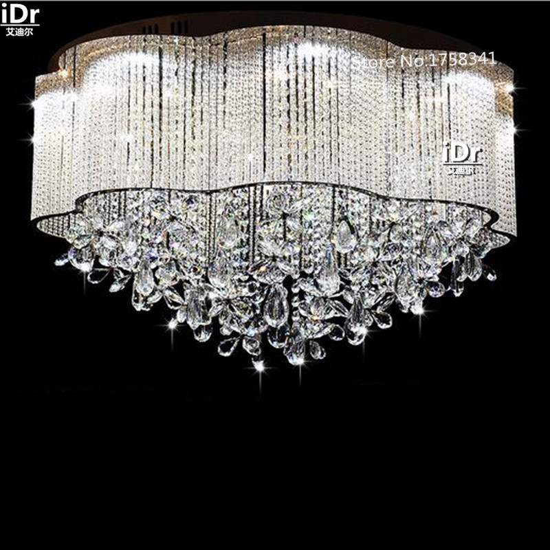 Luxury hall living room lights led crystal lamp modern minimalist bedroom study lamp factory outlets Ceiling Lights Rmy-0383