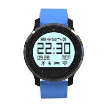 Neue Ankunft Hohe qualität F68 Armbanduhr Smartwatch IP67 Wasserdicht Pulsmesser Schrittzähler Colck IOS Android Armband