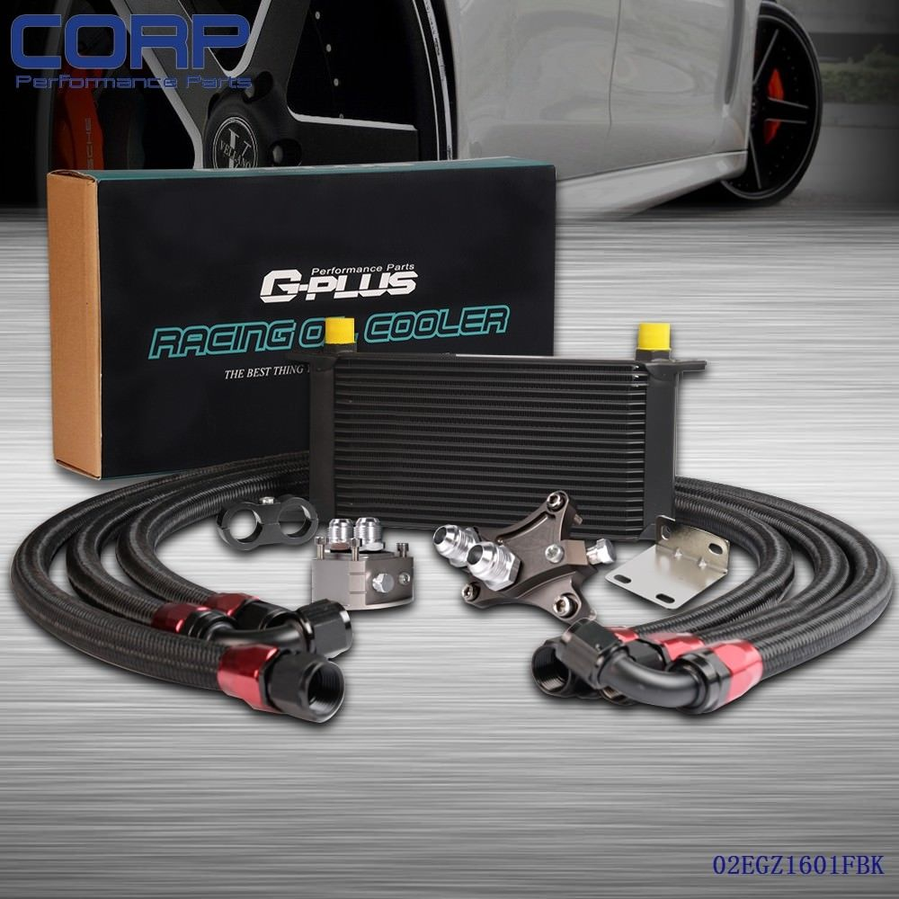 цена на 19 ROW Oil Cooler Kit For NISSAN SILVIA180SX 200SX 240SX S13 S14 S15 SR20DET