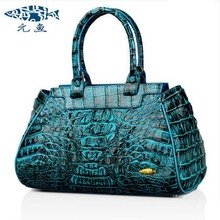yuanyu Real Thai crocodile women handbag new handbag single shoulder inclined bag authentic top grade party