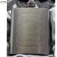 Venta caliente de metal frascos de la cadera del acero inoxidable portátil jarra de viaje regalos de plata botella de licor whisky alcohol Macho Mini Botellas